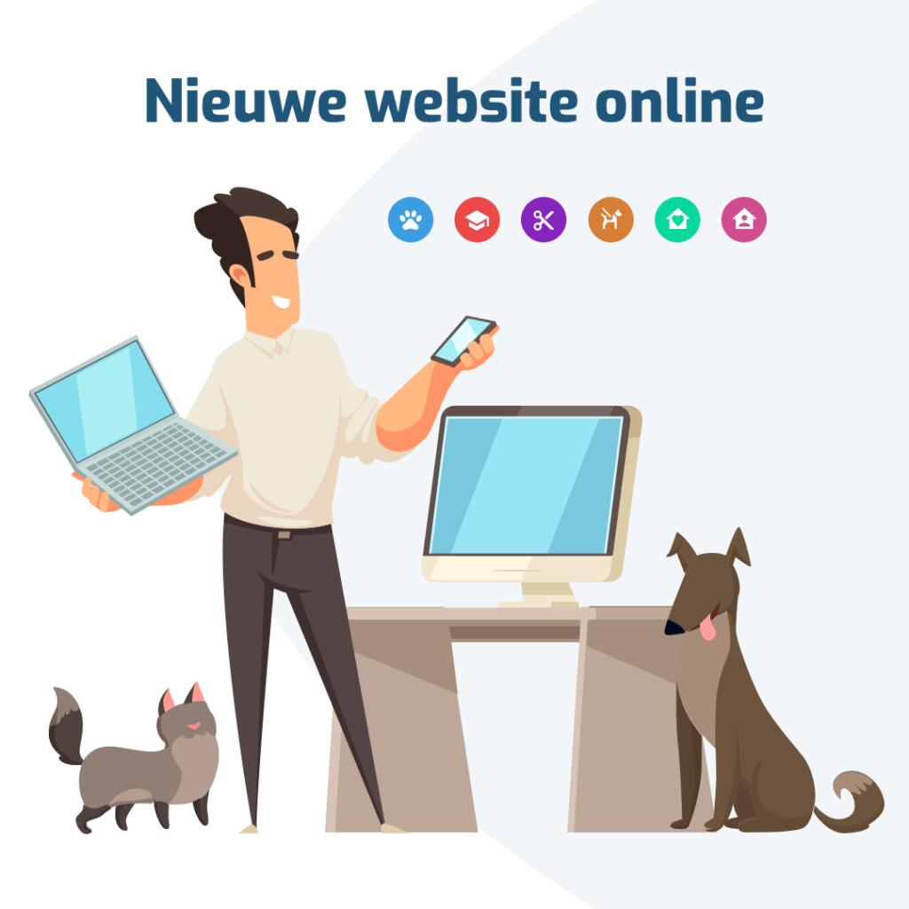 Nieuwe website KennelCare online