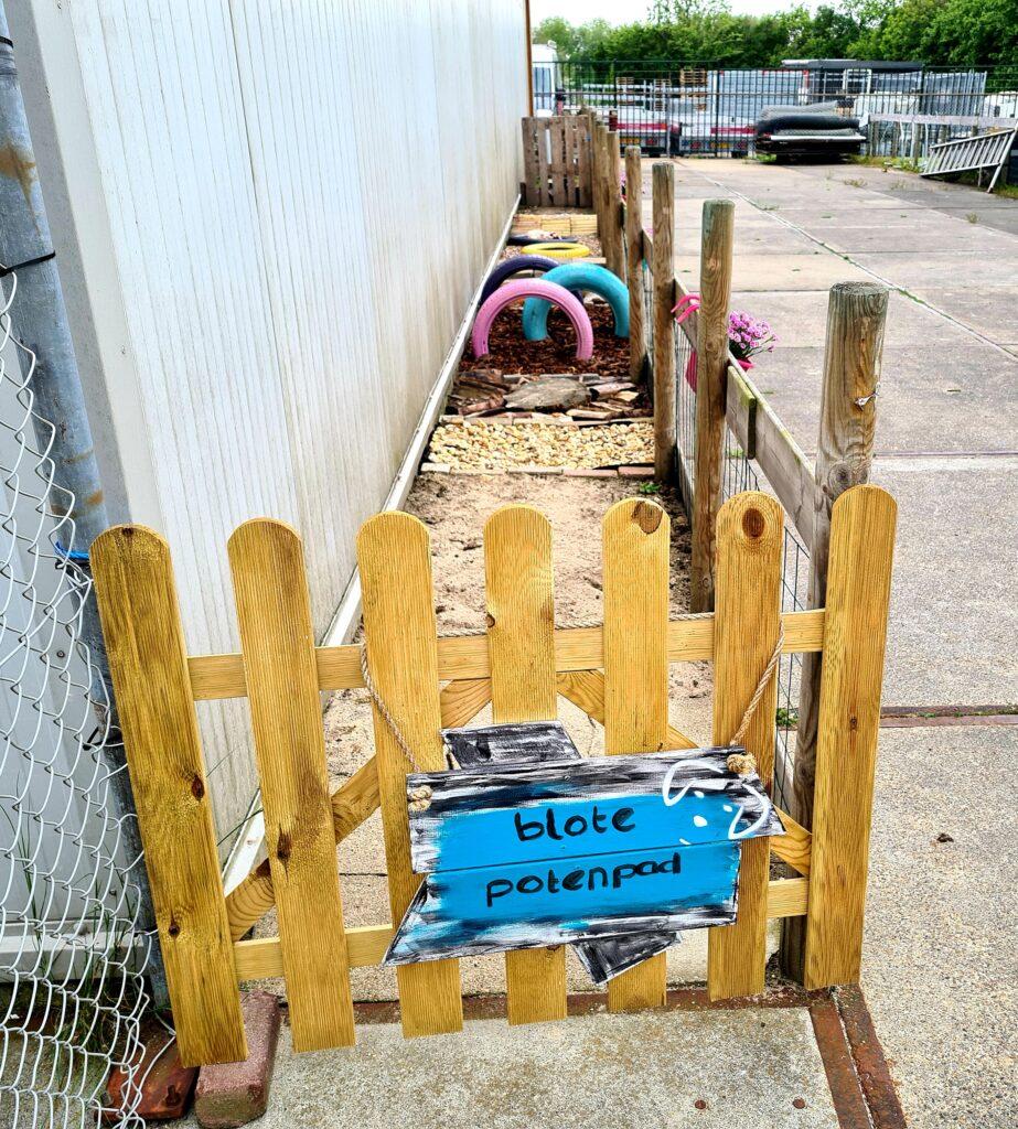 Hondenschool Goes blote potenpad